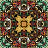 Nouveau del arte ornamental vintage geometrico — Foto de Stock