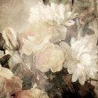 Art floral vintage light sepia blurred background — Stock Photo