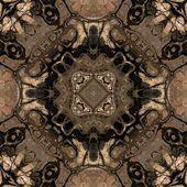 Geometrischen jugendstil vintage muster — Stockfoto