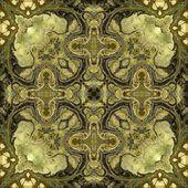 Jugend geometriska dekorativa vintage mönster — Stockfoto