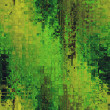 Art abstract background in yellow and green colors — Stock Photo