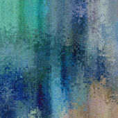 Art abstract background in beige, blue and green colors — Stock Photo