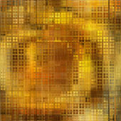 Art abstract golden and brown small tiles background — Stock Photo