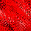 Art abstract geometric textured background in red color — 图库照片