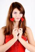 Loving girl — Stock Photo