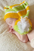 Sweet newborn — Stock Photo