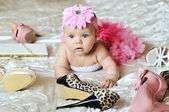 Bebê brilhante — Foto Stock