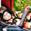 Baby in stroller — Stock Photo #21678597