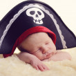 Stock Photo: Newborn pirate