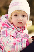 Toddler portrait — Stock Photo