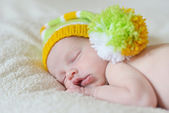 Sweet newborn's dreams — Stock Photo