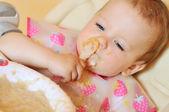 питание детское — Стоковое фото