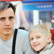 Father and son — Stock Photo #23197054