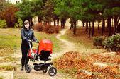 Walk in park — Stock Photo