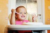 Pasto troppo divertente — Foto Stock