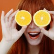 Orange mood — Stock Photo #24665869