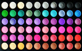 Eyeshadow set — Stock Photo