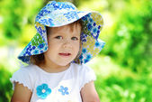 Summer toddler — Stock Photo