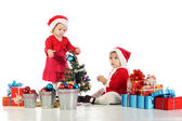 Preparing for Christma — Stock Photo