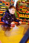 Happy playing boy — Stock Photo