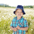 Royalty-Free Stock Photo: Boy in field