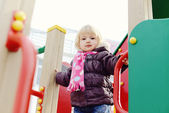 On playground — Stock Photo