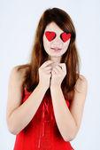 Girl in love — Stock Photo