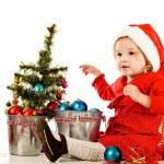 Santa helper — Stock Photo #27952505
