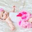 So sweet baby girl — Stock Photo