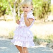 Summer fashion toddler  — Stock Photo