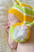 Sweet newborn — Stock Photo