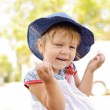 Laughing toddler girl — Stock Photo #29521461