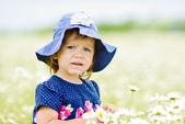 Seriózní dívka — Stock fotografie