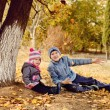 Stock Photo: сhildren in park