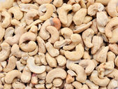 Cashew nuts full frame — Stock Photo