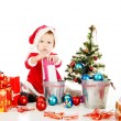 Stock Photo: Preparing for christmass