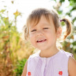 Foto de Stock  : Funny toddler girl