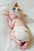 Newborn's dreams — Stock Photo