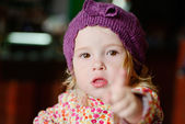 Toddler girl — Stock Photo