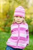 Funny toddler — Foto Stock