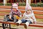 Маленькие друзья — Стоковое фото