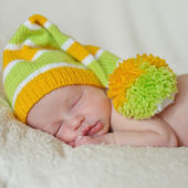 Sweet newborn — Foto Stock