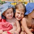 Children on the beach — Stock Photo