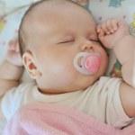 Sleeping newborn — Stock Photo #36780557