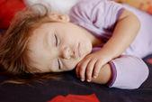 Spící batole — Stock fotografie