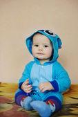 Funny babyjongen — Stockfoto