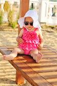 Zomer baby — Stockfoto
