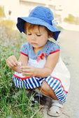 Chica del niño — Foto de Stock