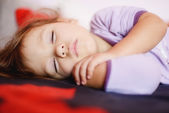 Sleeping toddler — Stock Photo