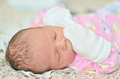 Tiny newborn — Stock Photo